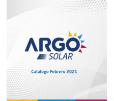 Catálogo ARGO SOLAR - Febrero 2021