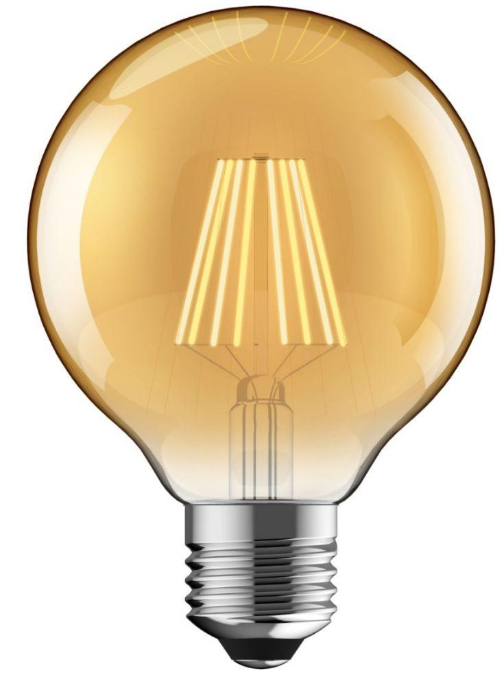 LAMPARA LED 8W LUZ CALIDA - VINTAGE